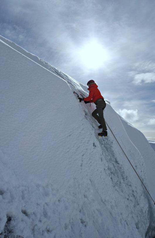 iceland ice climbing