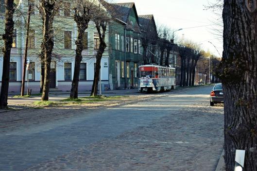 liepaja latvija latvia tram
