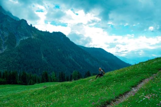 Route de Solalex gryon switzerland