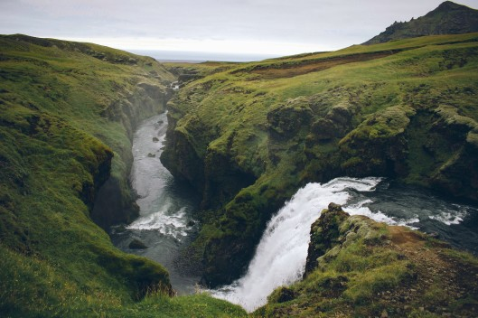 skogar iceland waterfall